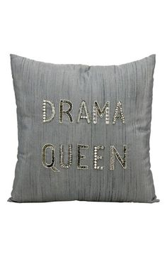 Mina Victory 'Drama Queen' Pillow available at #Nordstrom