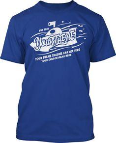 Single Color Deep VBS 2016 T-Shirt Design #16215 Submerged