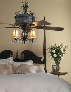 Ellington ANT54AV5WCR Antoinette 5-Blade Ceiling Fan in Antique Verde - Homeclick Community