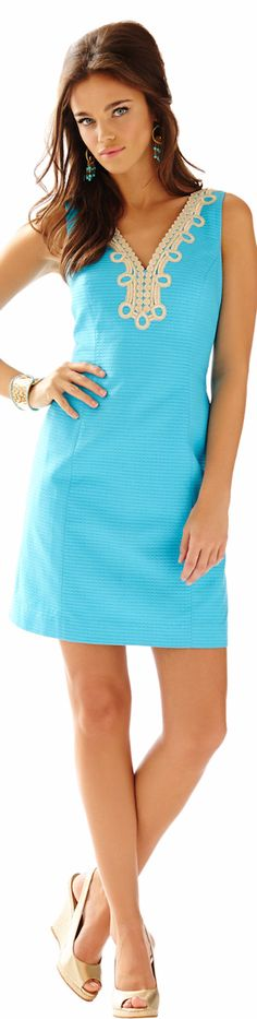 LILLY PULITZER BENTLEY SHIFT DRESS | House of Beccaria~