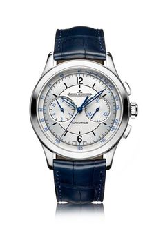 Jaeger-LeCoultre Master Chronograph - find out more about this premier complication from JLC's recently revamped Master Control collection by visiting us at WatchTime.com.