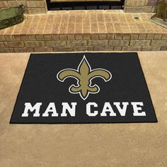 New Orleans Saints Man Cave All-Star Mat