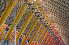 Madrid Airport by #RichardRogers
