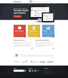 AppScript - Cloud Services company by Bob-Project.deviantart.com