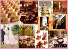 Small Wedding Ideas  Autumn Wedding Favors