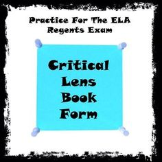 Books critical lens essay