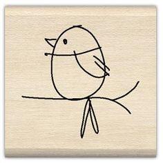 New Embroidery Patterns Birds Doodles Ideas Bird Drawings, Doodle Drawings, Easy Drawings, Doodle Art, Vogel Illustration, Cartoon Birds, Cartoon Bird Drawing, Drawing Art, Painted Rocks