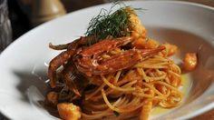 Bicicletta's spaghetti marinara. Photo: Graham Tidy.