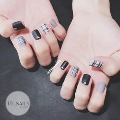 Get up to OFF the most Loved Skincare Brands during Love Your Skin Event. Be quick! Nails Now, Love Nails, Pretty Nails, Plaid Nails, Swag Nails, Plaid Nail Designs, Nail Art Designs, Nail Art Printer, Manicure