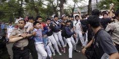 Dua Kelompok Pelajar Terlibat Bentrok di Jl Sutomo