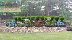 Backyard landscape designs, MADecorative Landscapes Inc. Landscaping A Slope, Landscaping Retaining Walls, Landscaping Ideas, Endless Summer Hydrangea, Limelight Hydrangea, Garden Site, Pinterest Garden, Plant Labels, Ornamental Grasses