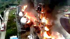 Vidéo De L'Explosion A La Centrale Nucléaire de Flamanville