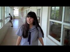 Tour of a japanese high school by an american student