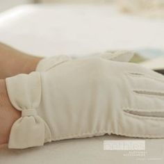 White gloves - to church and special outings, including shopping.