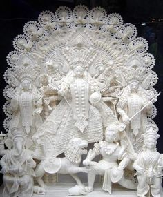 Ma Durga with her children