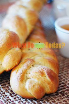 """Finnish Cardamom Coffee Braid/ Pulla. I had fun """"braiding"""" the bread for sure! and this was the first recipe I tried substitute 1/2 of the butter with mashed avocado and couldn't tell the difference :) It's a success!!!!"""