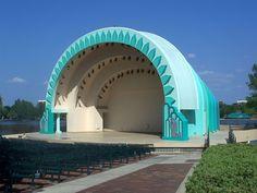 Amphitheater at Lake Eola. Orlando Florida, Downtown Orlando, Central Florida, Lake Eola, Small Towns, The Neighbourhood, New Homes, Orlando Harley, Childhood Memories