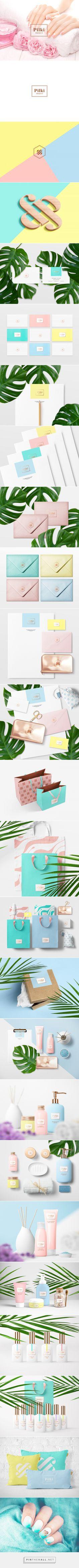 Pilki Project фирменный стиль для салона маникюра on Behance | Fivestar Branding – Design and Branding Agency & Inspiration Gallery