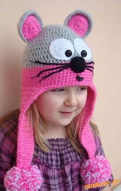 Детская шапочка-мышка крючком. Обсуждение на LiveInternet - Российский Сервис Онлайн-Дневников