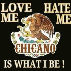 Chicano for life