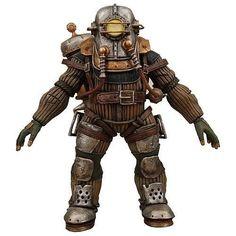 NECA Bioshock 2 Series 2 Ultra Deluxe Action Figure Big Daddy Rosie #NECA