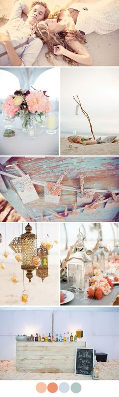 Isla Bonita - Island wedding mood board