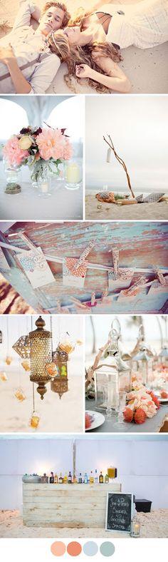 Isla Bonita - Island wedding mood board