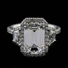 Platinum-Micro-Pave-Cut-Down-Diamond-Engagement-Ring-Mounting