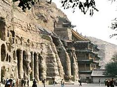 The Longmen Grottoes, located near Luoyang, Henan Province, China
