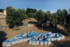 Le sponde del Mediterrano - Love difference by Michelangelo Pistoletto, 2010_ Parco Internazionale della Scultura MARCA _ Catanzaro (IT)