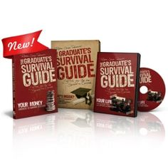 Dave Ramsey's Graduate's Survival Guide. Financial Money Management for college grads. Pin now for later.