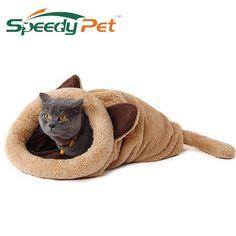 2016 de Primavera Nuevos Productos Cat Cama Caliente Suave Gato de la Casa Colchonetas para mascotas Cachorro Cojín Cama de Conejo Divertidos Productos Para Mascotas 4 Color
