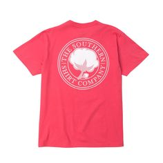 Southern Shirt Company Signature Logo T-Shirt in Tropical Red