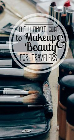 Staying gorgeous while traveling isn't the easiest task. After months of traveling, I've found the best makeup, skincare, and haircare tips for travel! Read my ultimate guide to makeup & beauty for travel for beauty tips, product recommendations, skincare advice, and multitasking travel must-haves!