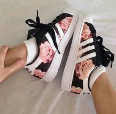 Adidas Superstar Red Rose