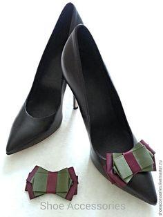 Купить Украшение для туфель Бант Классика - украшения для обуви, украшения для туфель, аксессуары для обуви