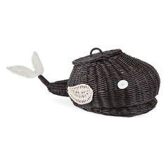 Whale Fiber Basket - Decoration - Decoration | Zara Home United States
