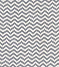 Quilter's Showcase Fabric- Chevron Gray & Cream