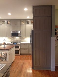 Best 14 Best Weathered Grey Cabinets Images Grey Cabinets 640 x 480