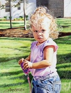 The Colored Pencil Artwork of George D. Britnell