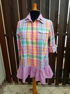 Free People Funky Patchwork Style Romantic One-Of-A-Kind Eco-Friendly Handmade Clothing for Women UpCycled Babydoll Tunic Dress Shirt Patchwork Dress, Upcycled Clothing, Mori Girl, Recycled Fabric, Gypsy Style, Country Chic, Handmade Clothes, Refashion, Boho Dress