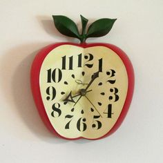 1950s Kitchen Clock  by Vintage by Dounia