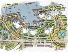 steve pharoah urban design Buildings is a Pricey Segment! Landscape Design Plans, Landscape Concept, Landscape Architecture Design, Urban Landscape, Urban Design Concept, Urban Design Plan, Site Plan Design, Design Design, Event Design