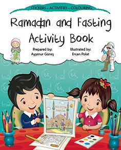 Ramadan and Fasting Activity Book (Discover Islam Sticker Activity Books) by Aysenur Gunes Ramadan Activities, Ramadan Crafts, Ramadan Decorations, Color Activities, Activities For Kids, Islamic Books For Kids, Islam For Kids, Dotted Drawings, 6 Years