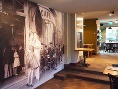 BN Wallcoverings, Café Kiebert Amsterdam, Café Kiebert Amsterdam Rosalisa  Villa, Rosalisa Villa