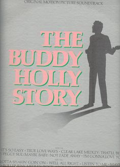 BUDDY HOLLY STORY LP Original Motion Picture Soundtrack