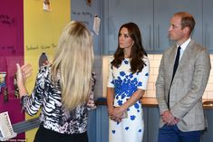 8/24/16*The Duchess of Cambridge and Prince William heard about the building's £3.2 million renovation during their day there