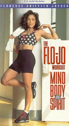 The Flo-Jo Workout: Mind, Body and Spirit [VHS]. Trying to find a DVD of this.