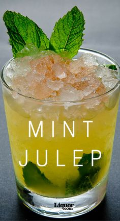 The Derby Day classic is certainly a crowd pleaser! Celebrate the sporting event year-round with the Mint Julep, a classic bourbon refresher.