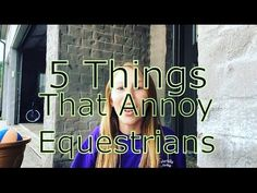 Hello everyone! So my next video will be a long barn Vlog! Annoyed, 5 Things, Equestrian, Channel, Horses, Youtube, Horseback Riding, Show Jumping, Horse